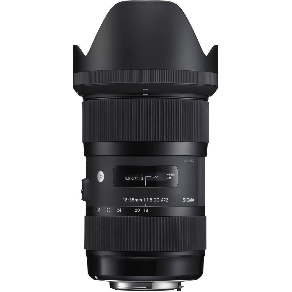 SIGMA 18-35mm f/1.8 A DC HSM Canon
