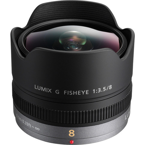 Panasonic Lumix G FishEye 8mm F/3.5 ASPH