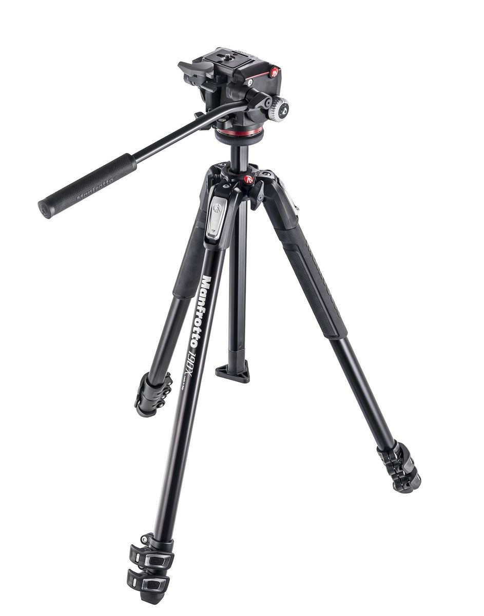 Manfrotto MK190 X3 + 2-Way videopää