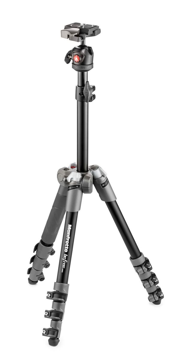 Manfrotto BeFree ONE -Jalusta (Gray)