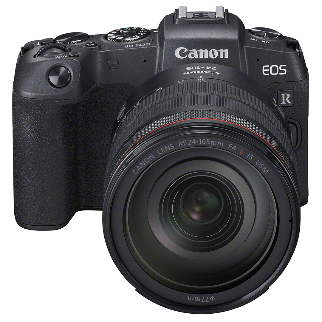 CANON EOS RP -Runko + Adapteri EF-EOS-R + RF 24-105mm f/4 L IS USM