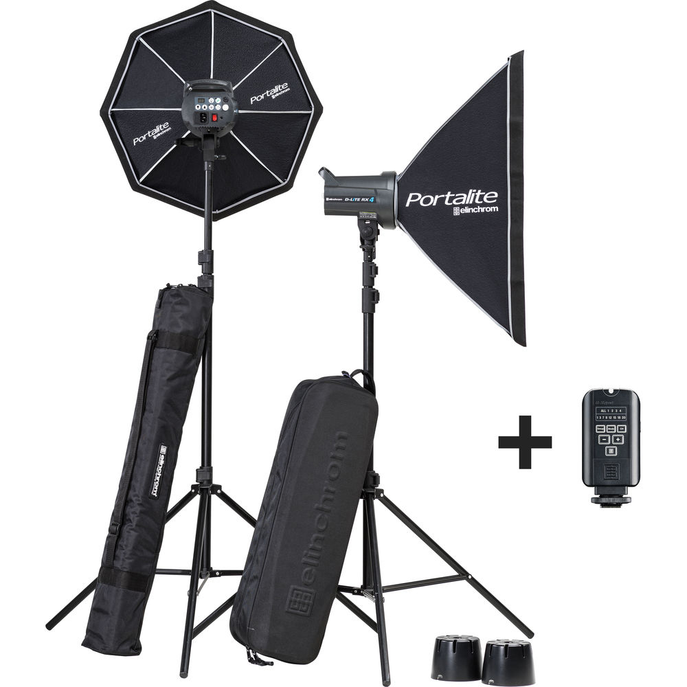 Elinchrom D-LITE 4 RX Set SoftBox