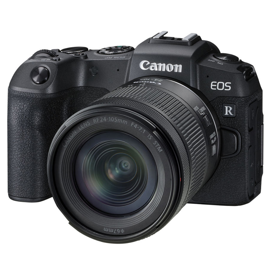 CANON EOS RP + RF 24-105mm f/4-7.1  IS STM + EF-EOS R Adapter