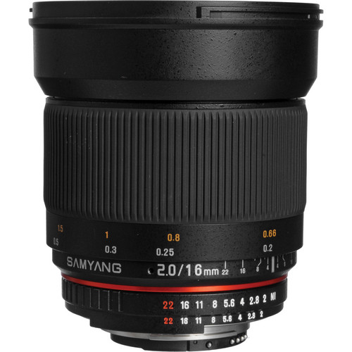 SAMYANG 16mm F2.0 ED AS UMC CS AE Nikon