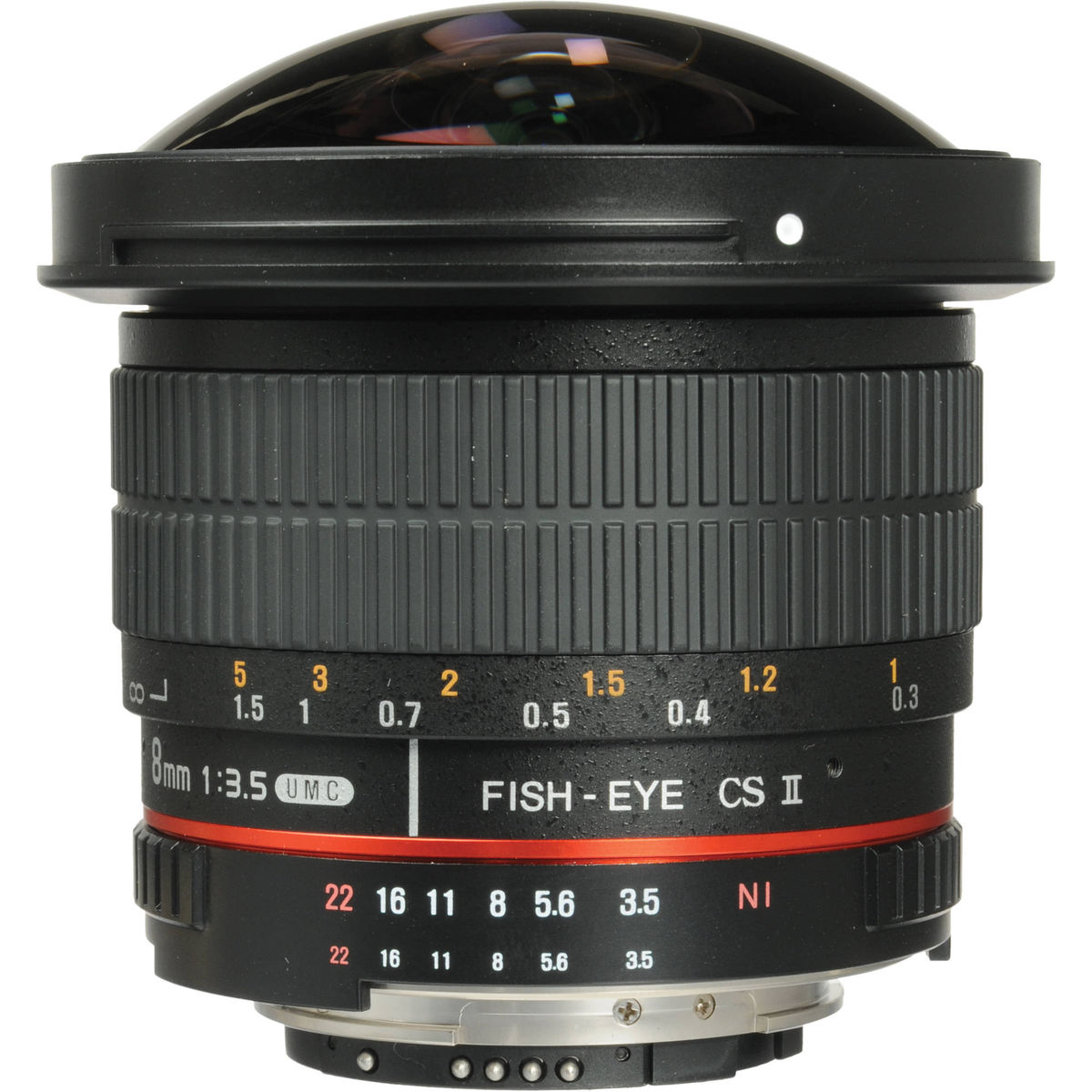 SAMYANG 8mm f/3.5 Fish-eye AE Nikon
