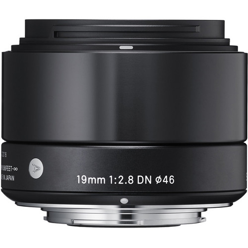 Sigma 19mm F/2.8 ART Black