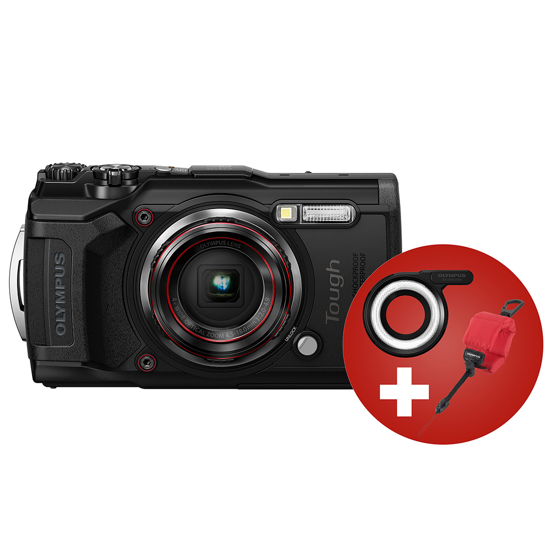 OLYMPUS Tough TG-6 (Musta)