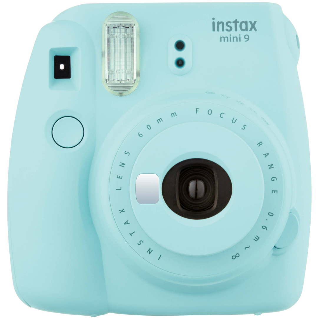 FUJIFILM Instax Mini 9 (Ice Blue)-1