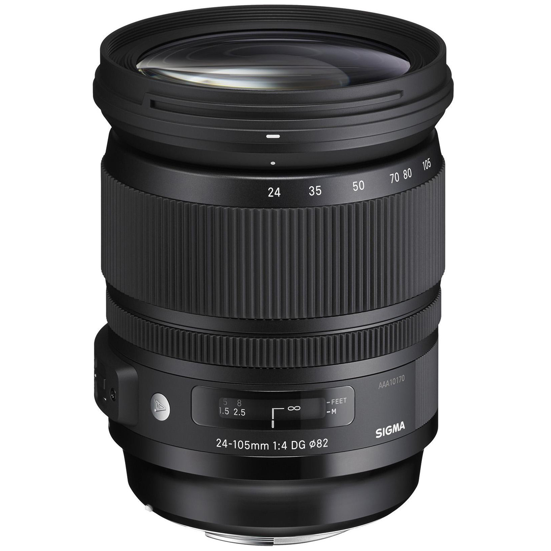 SIGMA 24-105mm f/4 A DG OS HSM  Canon